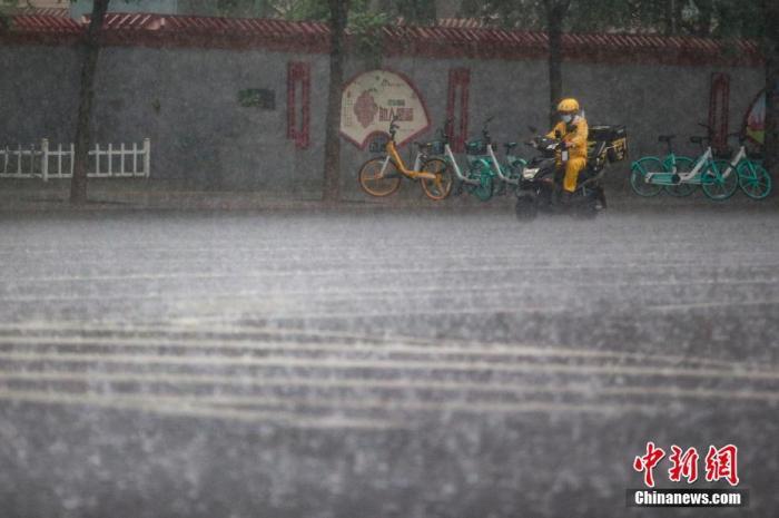 北京今日19时后降雨将明显加强 局地大暴雨