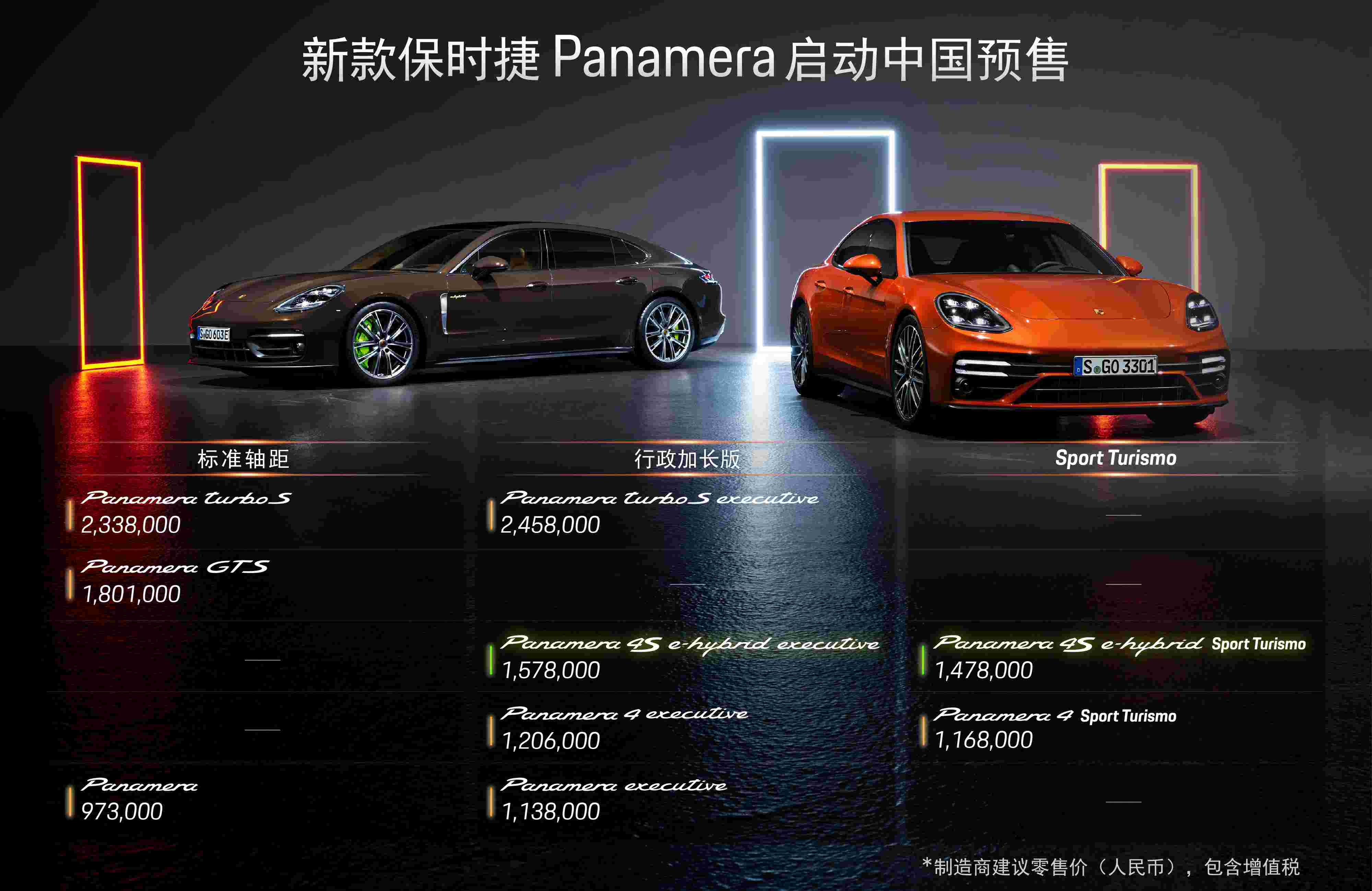 纽北长轴距车型圈速王 谈保时捷新款Panamera