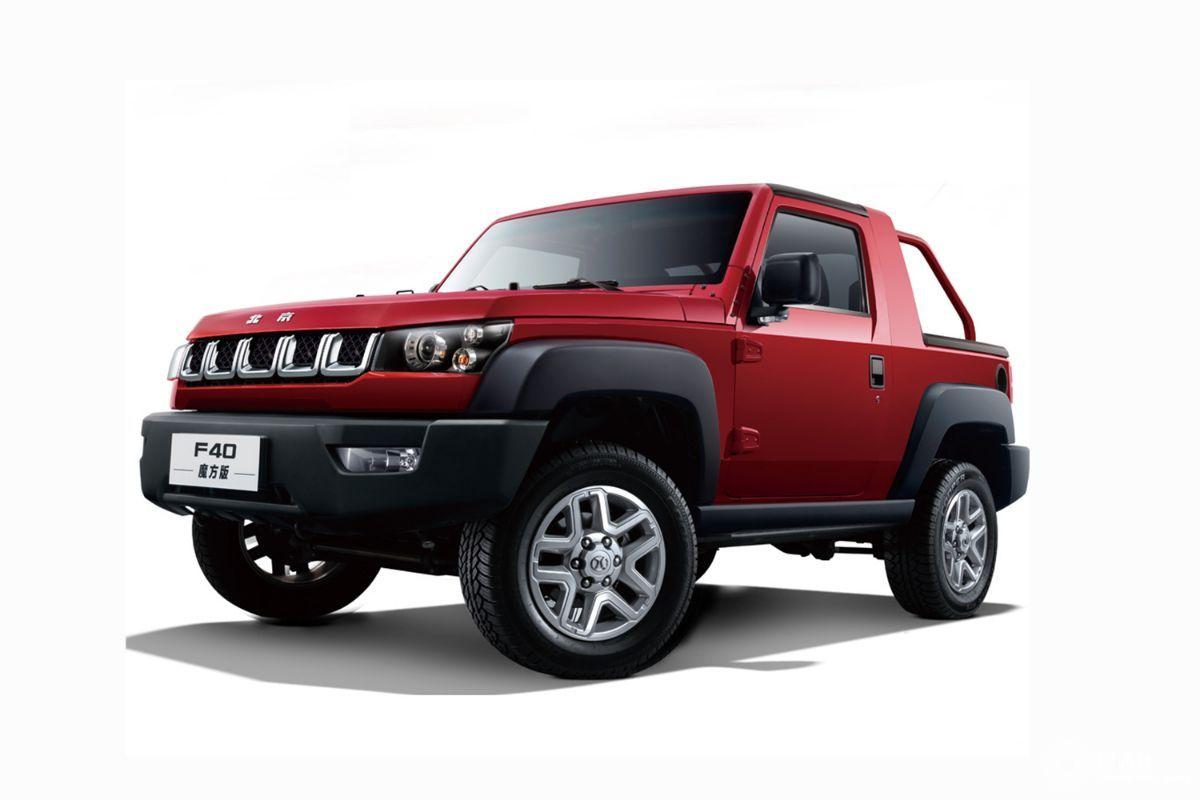 拥有强大越野能力 新款北京F40上市/售16.99万元