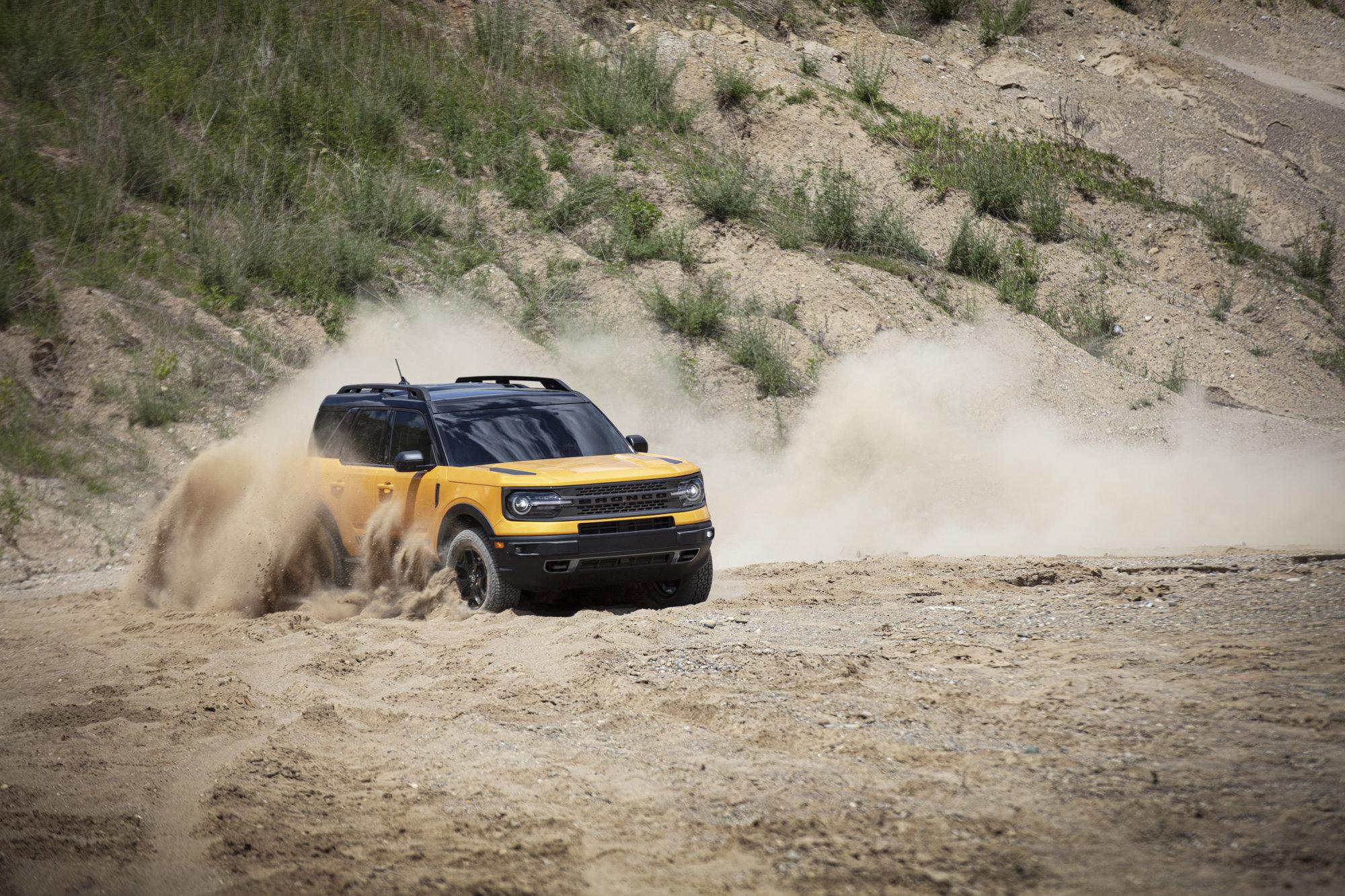 再次提升越野性能 福特Bronco将推出手动挡车型