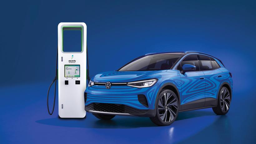 大众ID.4电动SUV即将推出 美国车主可免费充电三年