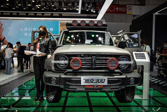 玩新潮 玩出WEY 北京车展WEY品牌发布用户共创体系