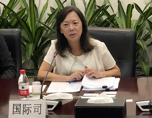 中国人民银行国际司司长朱隽讲话
