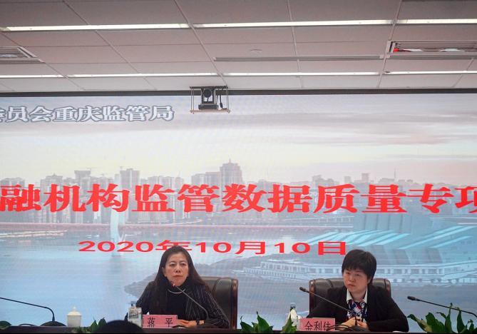 重庆银保监局召开重庆银行业金融机构监管数据质量专项治理动员大会