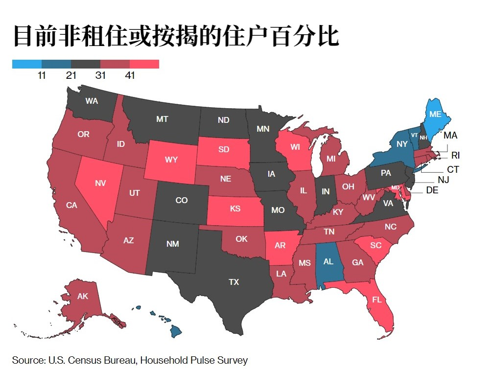 美国人口普查局:580万美国人可能因拖欠房租或抵押贷款被被赶出家门