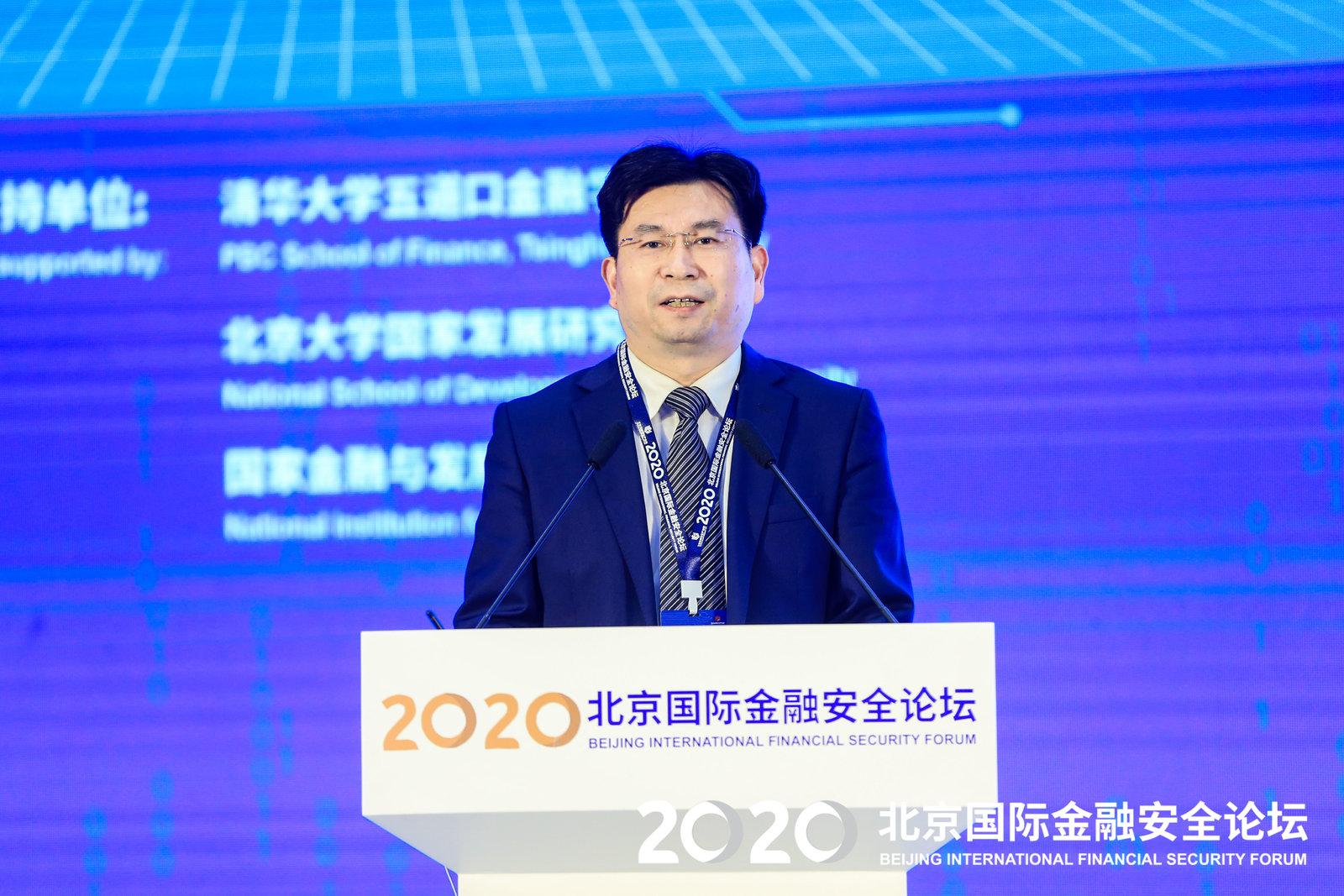北京金融安全产业园执行总裁陈卫国