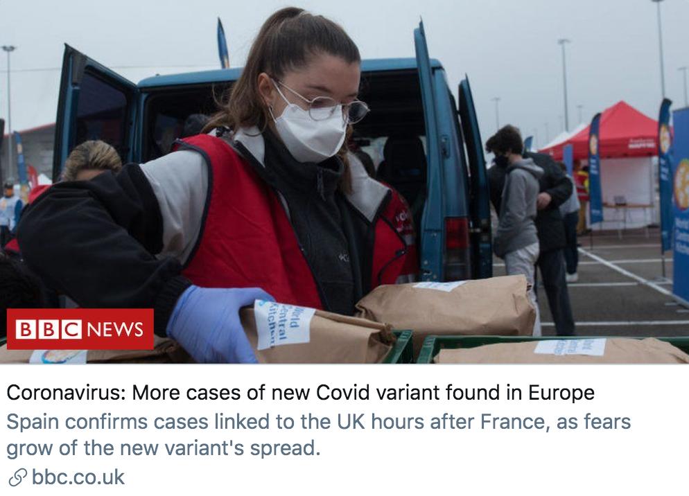 变异新冠病毒已蔓延近20国