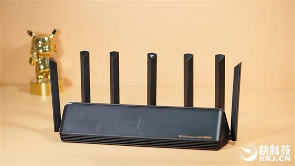 电银付使用教程(dianyinzhifu.com):6000兆无线史上最强!小米路由器AX6000开箱图赏