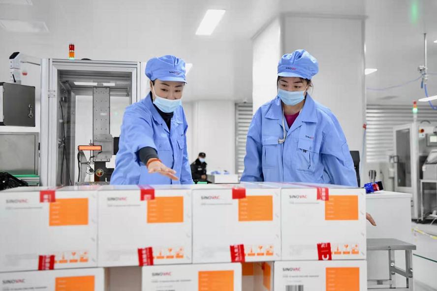 全力以赴!春节探访新冠疫苗生产车间,科兴公司全员加班