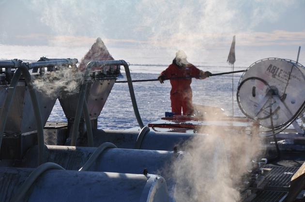 科学家在南极冰层下意外发现奇怪生物