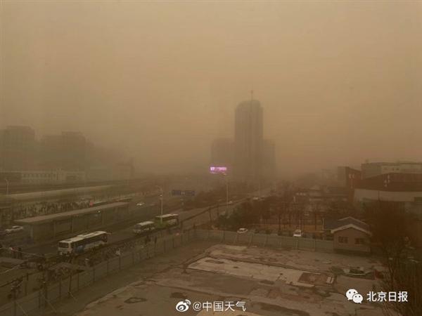 注意防护!中央气象台再发沙尘暴蓝色预警:北方地区全覆盖