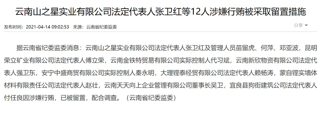 """突发!千亿国企""""大地震"""",一天17人被查!董事长落马,两位副总经理主动投案…"""