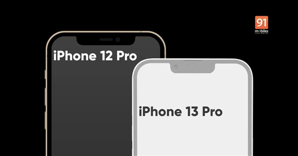 续航短板将补齐!iPhone 13 Pro Max设计图曝光:机身变厚了