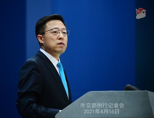 拜登与菅义伟峰会大谈中国 外交部回应