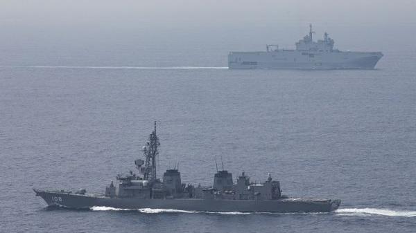 """日媒:日美法将举行""""离岛防卫""""军演"""