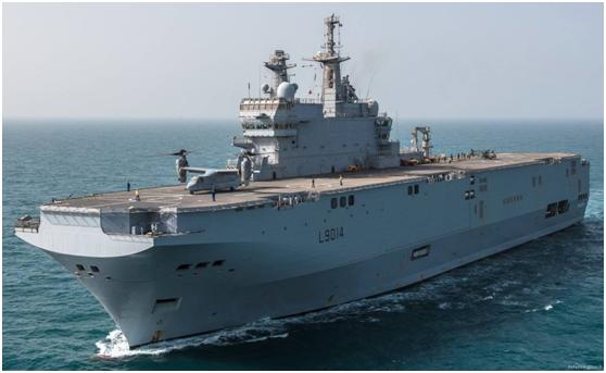 警惕!日美法澳将出动11艘舰艇在东海联合训练,包括两艘准航母