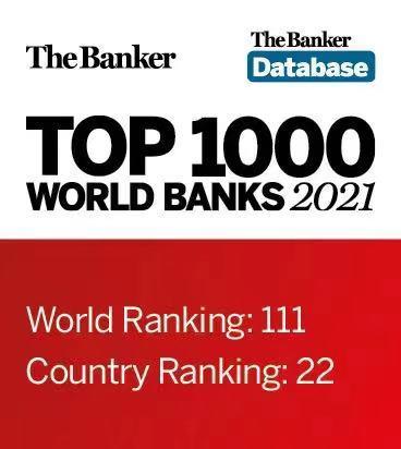 英国《银行家》公布全球银行1000强 渤海银行排位连续十年稳步攀升