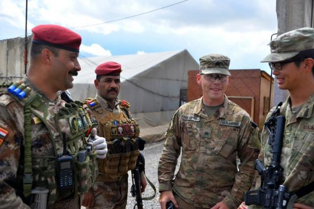 美军将结束在伊拉克的作战任务,转而纯粹扮演顾问角色