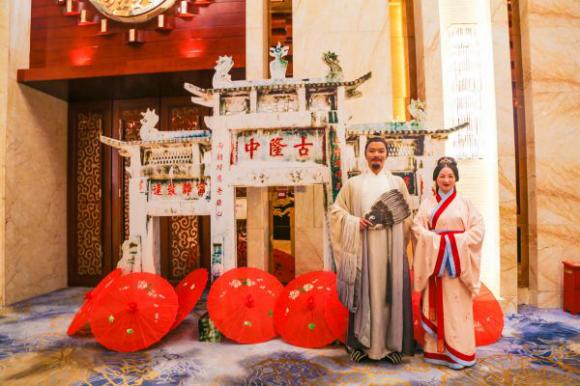 """襄阳古隆中来汉推介""""隆中红""""秋冬季旅游产品"""